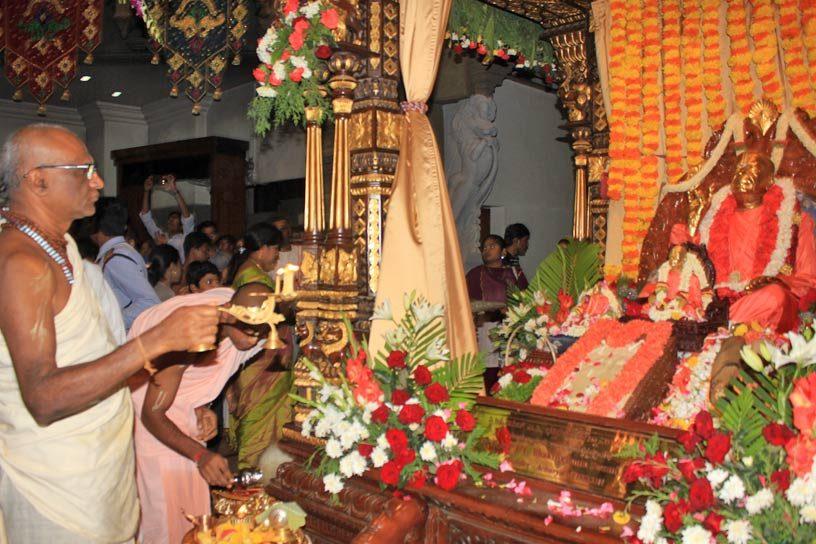 Visesha arati to Srila Prabhupada