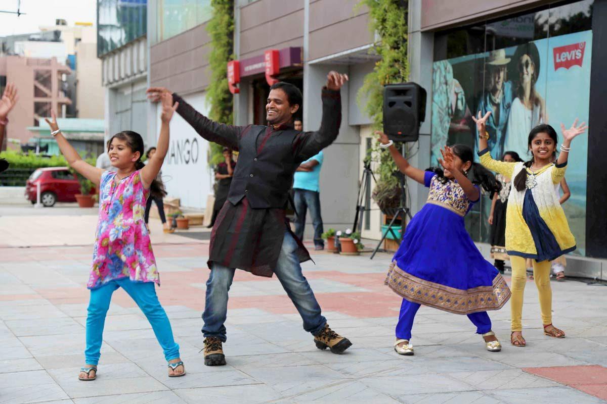 Hare Krishna Flash Mob