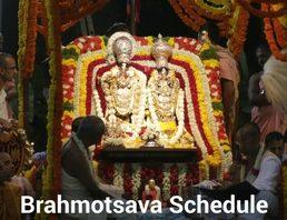 brahmotsava schedule