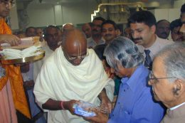 dr apj abdul kalam visited iskcon