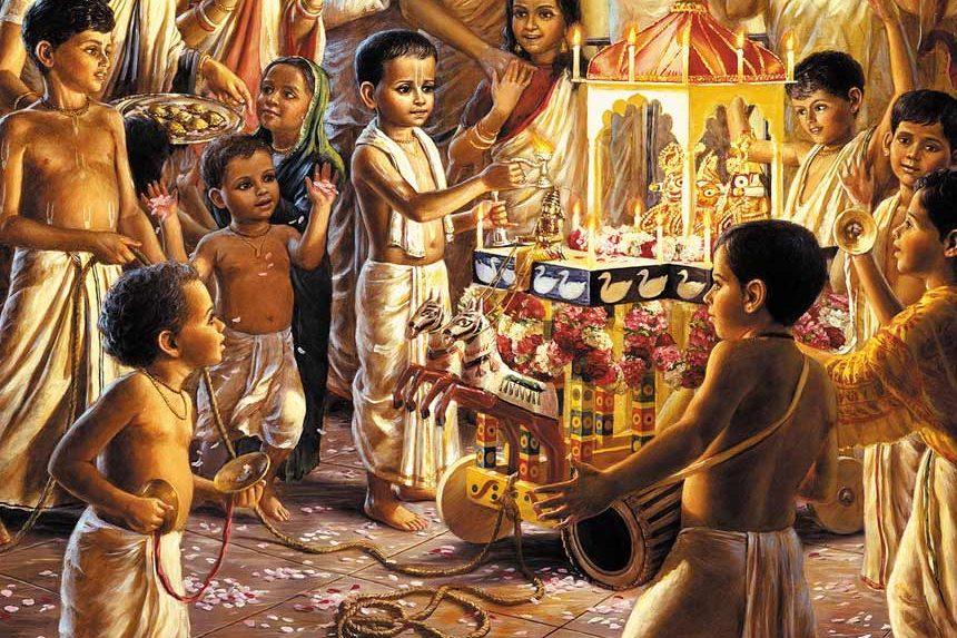 srila prabhupada childhood