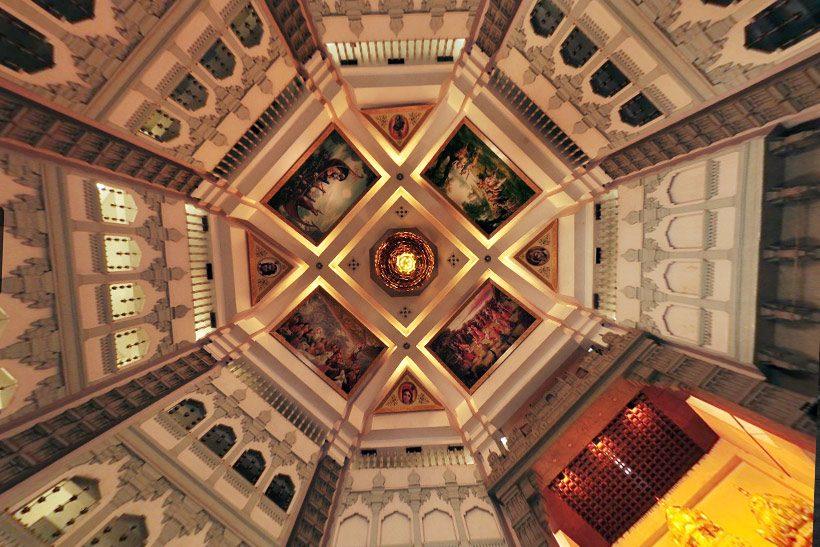 Inside view of ISKCON Bangalore