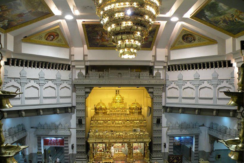 ISKCON Bangalore main Temple Hall