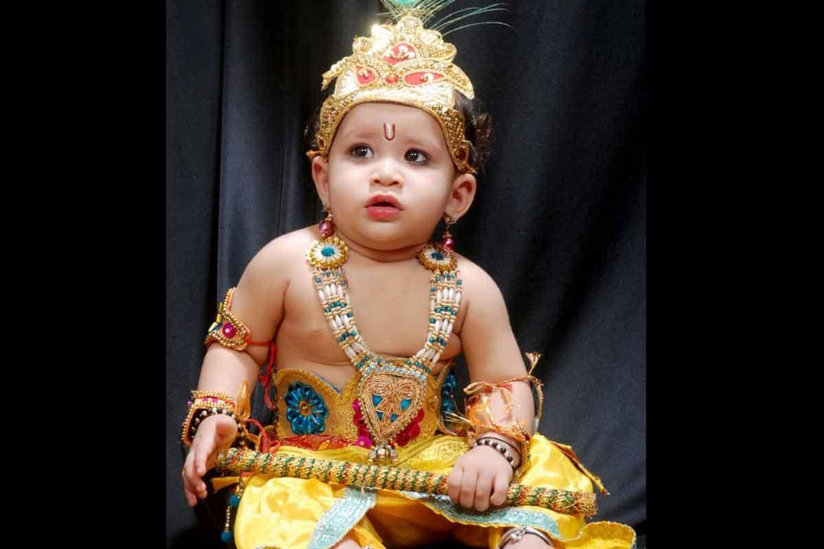 Krishna Costume Contest
