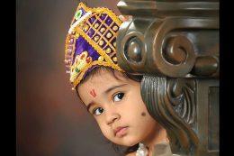 radha krishna costume contest 2014