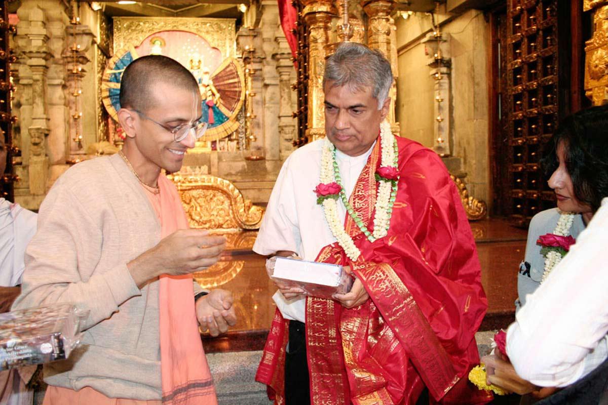 Srilanka Ex Prime Minister Ranil Wikremesinghe