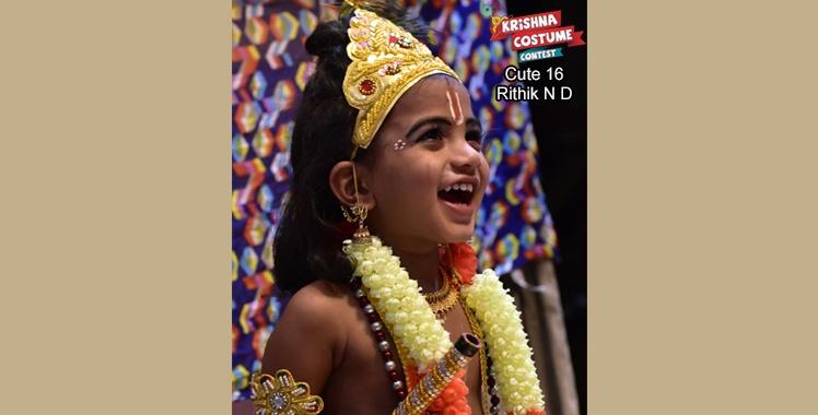 Krishna Costume Contest - 2018