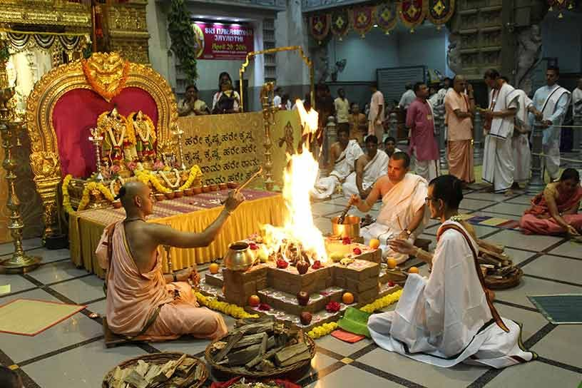 Homa on Akshaya Tritiya day