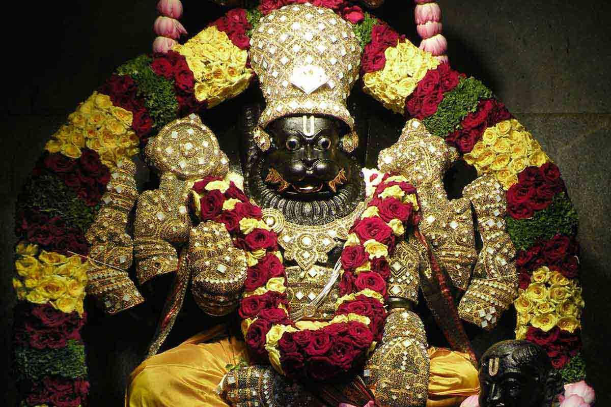 Sri Narasimha deva Swarna Alankara