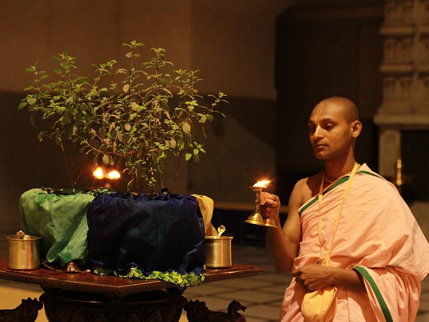 Sri Tulasi Puja