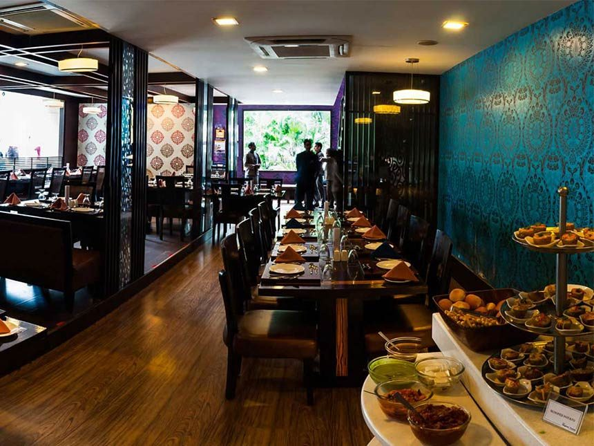A grand feast at our Higher Taste Restaurant