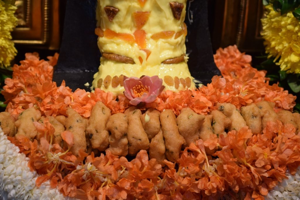 The lotus feet of Sri Hanuman