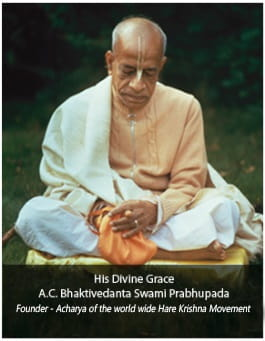 Founder Acharya of Hare Krishna Movement